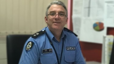 Kimberley Police District Superintendent Allan Adams