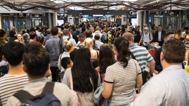 The meltdown on the network last week caused major overcrowding at Town Hall.