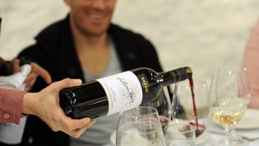 Dominant: Hardy is the biggest selling wine in Britain, but bosses hope to build presence in the US and Asia.