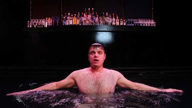 MTC's new production of The Water Carriers, starring actor Damien Richardson.