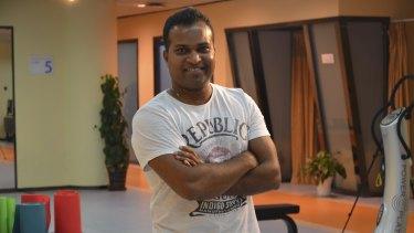 Sports physiotherapist Kusal Goonewardena says some think his job is just glorified massage.