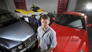 Group Managing Director of auction house, Grays Online, Cameron Poolman.