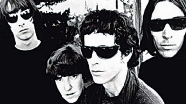Lou Reed and the Velvet Underground.