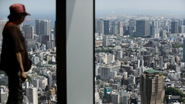 Tokyo apartment prices have risen 11 per cent in two years, and are set to climb further as Chinese buyers are boosting demand.