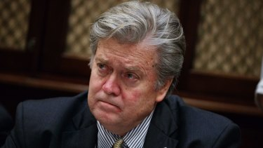 Steve Bannon, Trump's chief strategist, was a controversial appointment to the NSC.