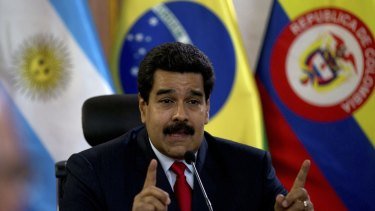 Venezuela's President Nicolas Maduro hoped to be bailed out by China.