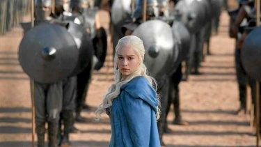 Daenerys' army marches forward.