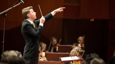 Toby Thatcher is the new assistant conductor of the Sydney Symphony Orchestra.