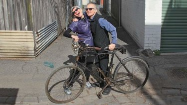 Paul Farren and his wife, Charlie, share a love for bicycles of yesteryear and have amassed an impressive collection.