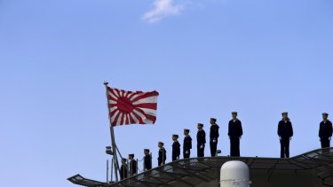 Japan plans to build its military strength.
