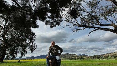 ''It is about allowing someone to form a government that would hopefully last for some time'' ... Tony Windsor on his farm.