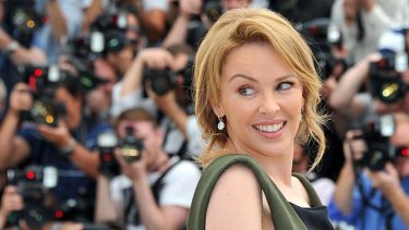 Pop star Kylie Minogue.