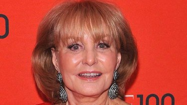 Forced to apologise ... Barbara Walters.