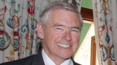 Change of plan ... the RSL president, Ken Doolan.