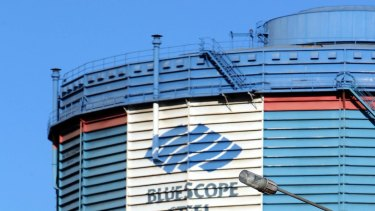 BlueScope's North Star plant has been hit by a fire.