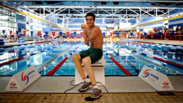 Inspiring: Ahmed Kelly competed at the 2012 London Paralympics.