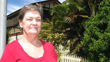 Yeerongpilly resident Yvonne Nathan may lose her home to the city's new underground station.