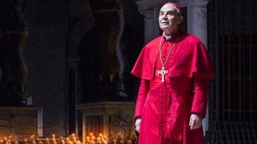 David Suchet as Cardinal Giovanni Benelli in The Last Confession.