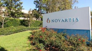 Internal investigation: Novartis Pharmaceuticals.