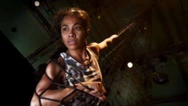 ''Outstanding'': Dalisa Pigram in the Sydney Festival-presented <i>Gudirr Gudirr</i>.