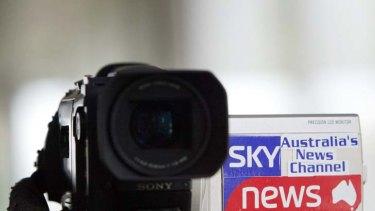 Winning bid ... Sky News will control Australia's official TV service in Asia.