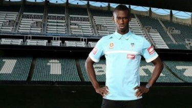 Reunited: Bernie Ibini is looking forward to working with Graham Arnold again at Sydney FC.