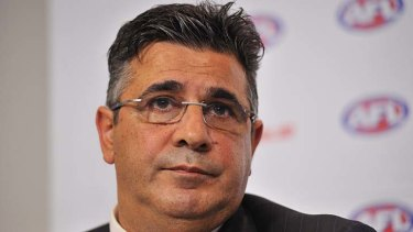 Andrew Demetriou has issued a thinly-veiled threat to Essendon.