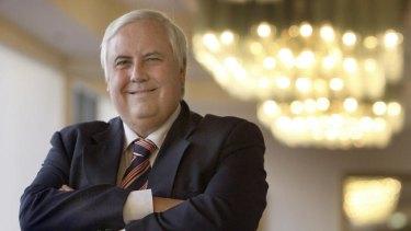 Billionaire mining magnate Clive Palmer.