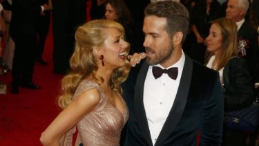 Blake Lively and her husband, actor Ryan Reynolds