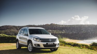 The Volkswagen Tiguan SUV  is affected by the isssue.