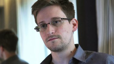 Former intelligence contractor Edward Snowden.
