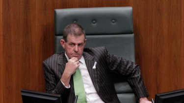 Prepared to answer questions ... Peter Slipper.