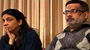 Accused ... Rajesh and Nupur Talwar.