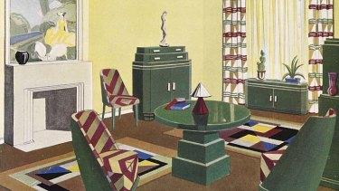 Still life: Hera Roberts' illustration of the Burdekin room.