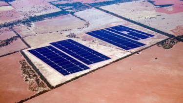 The final modules of AGL's Nyngan Solar Plant in western New South Wales were installed in April 2015.