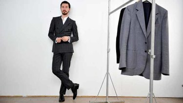 Fashion consultant and Italian style fan Julian Burak.