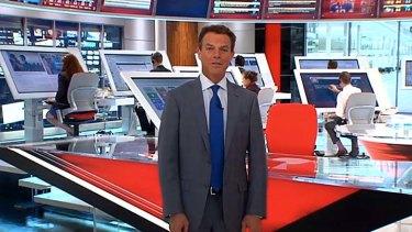 Giant touchscreens: The Fox newsroom.