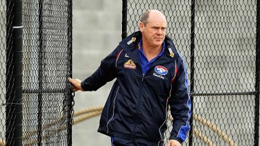Experience: Rodney Eade heads to the Pies.