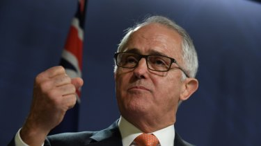 """Malcolm Turnbull can say """"I won fair and square""""."""