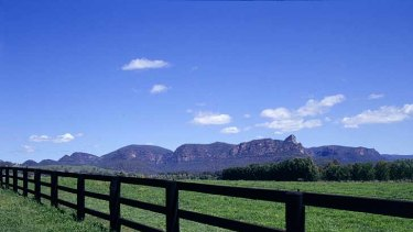 Barramul ... Gerry Harvey's stud in the Hunter Valley.