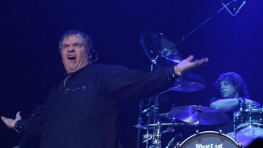 Meat Loaf performs at the Wollongong Entertainment Centre on his Australian tour.