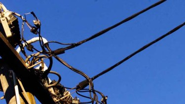 Ditching the copper wires... the NBN will deliver fast internet and voice through fibre optics.