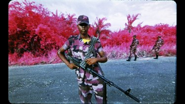 """""""A richer perspective of the tragedy that has claimed so many lives"""": The Enclave, by Richard Mosse."""