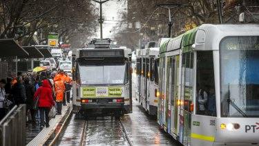 Private operator Yarra Trams must meet higher punctuality targets.