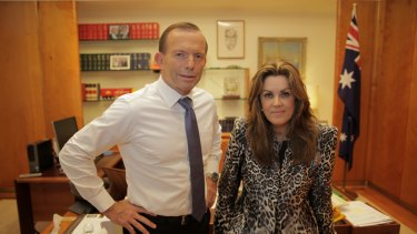 'This ain't The West Wing': The PM's chief of staff Peta Credlin is back in the spotlight.