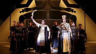 Opera Australia's production of <i>Aida</i>.