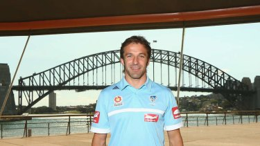 Leader of the pack: New Sydney FC captain Alessandro Del Piero