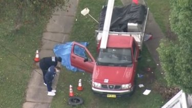 Detectives seize getaway car used in daylight fatal attack.