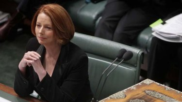 """""""I do not ask Mr Abbott to endorse or applaud the Malaysia arrangement"""" ... Prime Minister Julia Gillard."""