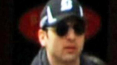 Boston Marathon bombing suspect Tamerlan Tsarnaev.